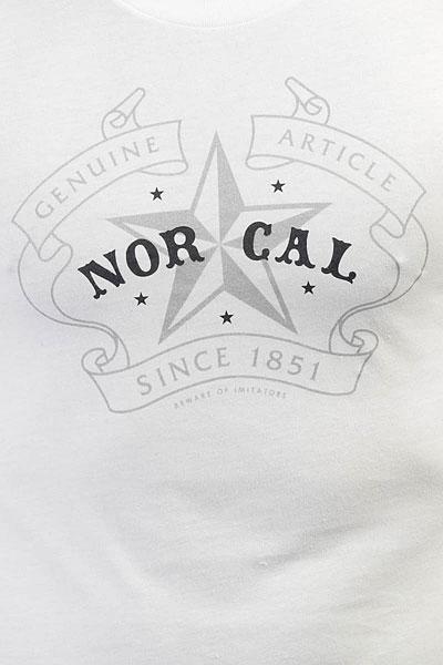 Футболка Nor Cal Crest White