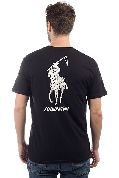 Футболка Foundation Polo Reaper Black