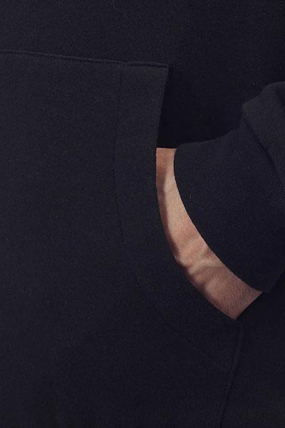 Толстовка классическая Cliche College Reversible Black