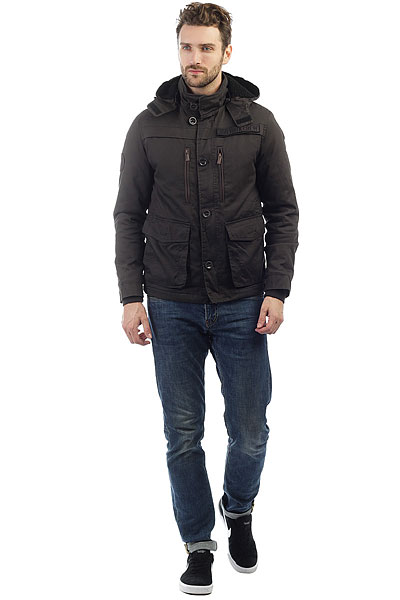 Куртка Zoo York Fieldston Washed Black