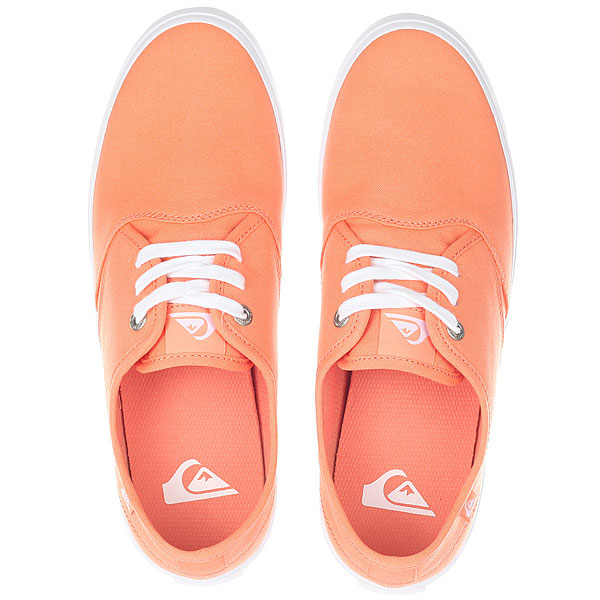 Кеды низкие Quiksilver Shorebreak Orange/Black