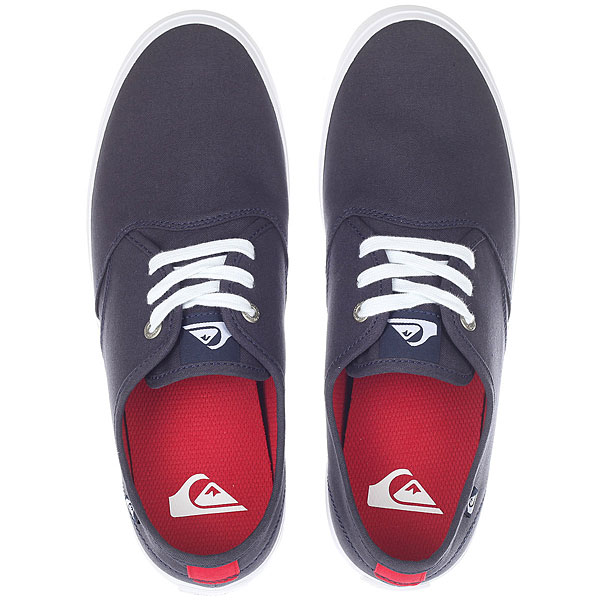 Кеды низкие Quiksilver Shorebreak Blue/Red/White