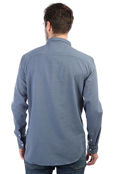 Рубашка Quiksilver Newtimeboxls Vintage Indigo