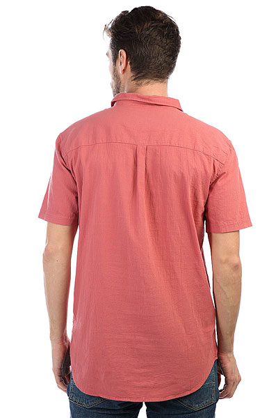 Рубашка Quiksilver Newtimeboxss Mineral Red
