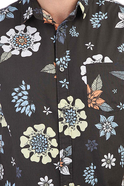 Рубашка Quiksilver Sunsetfloralss Tarmac Sunset Floral