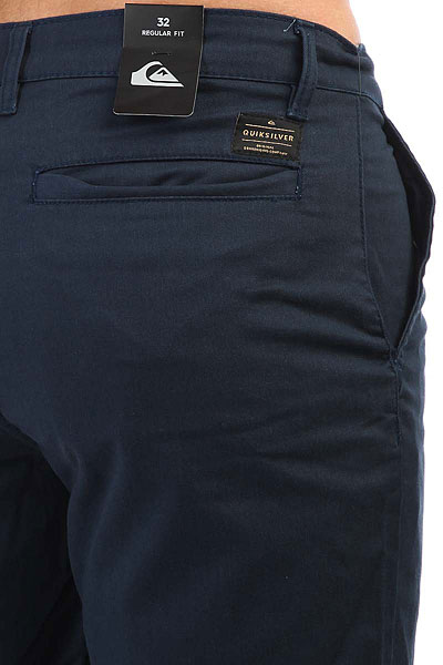 Шорты классические Quiksilver Neweverydayunio Navy Blazer