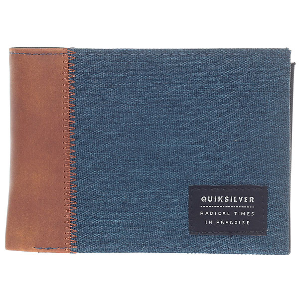 Кошелек Quiksilver Freshnessplusii Blue Nights Heather