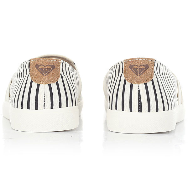 Слипоны Roxy Atlanta Ii White/Stripe