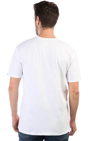 Футболка Quiksilver Ssclafinfanatic White