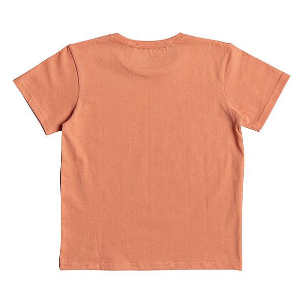 Футболка детская Quiksilver Get Off Boy Cadmium Orange