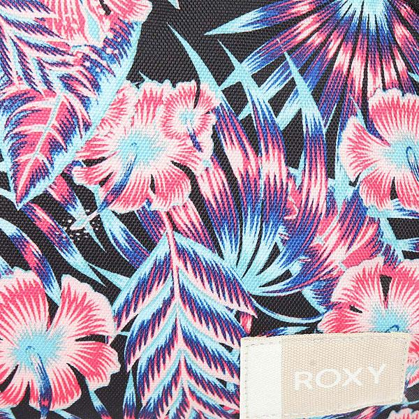 Рюкзак городской женский Roxy Always Core Anthracite Tropical