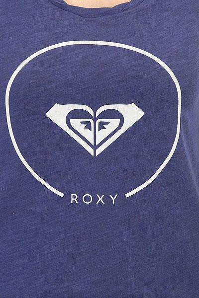 Майка женская Roxy Billy Twist Ess Deep Cobalt