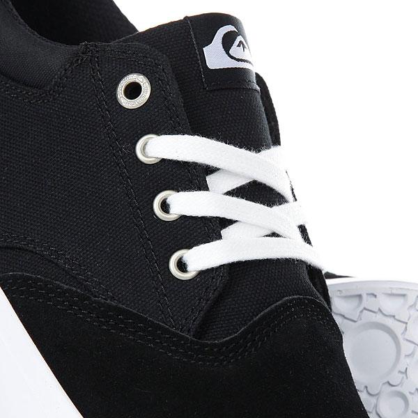 Кеды низкие Quiksilver Verant Black/White