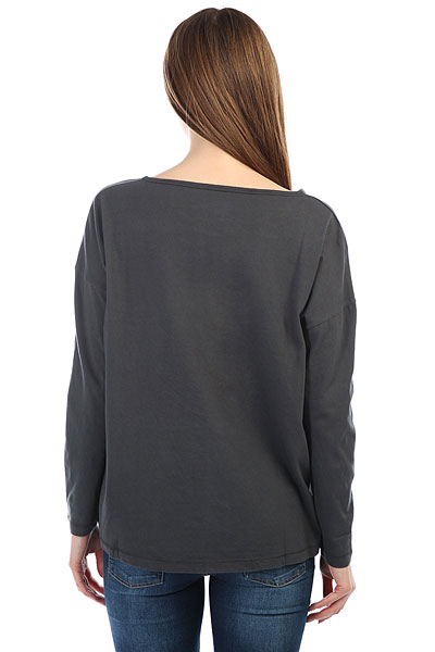 Лонгслив женский Billabong Essential Off Black