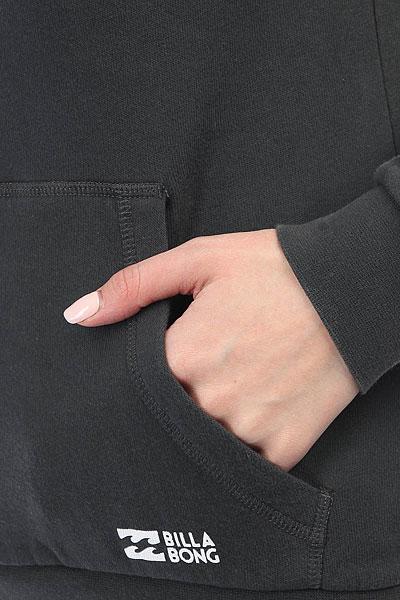 Толстовка кенгуру женский Billabong Essential Ho Off Black