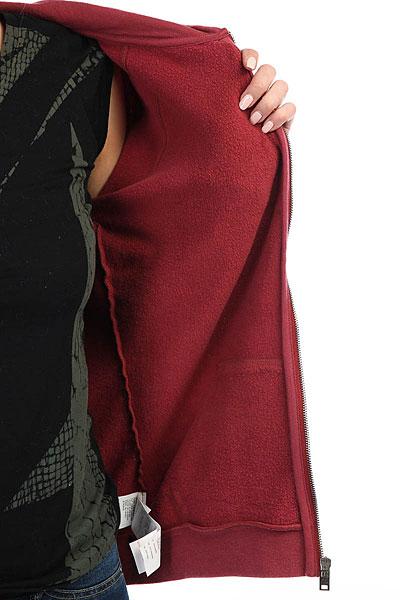 Толстовка классическая женская Billabong Essential Zh Scarlet