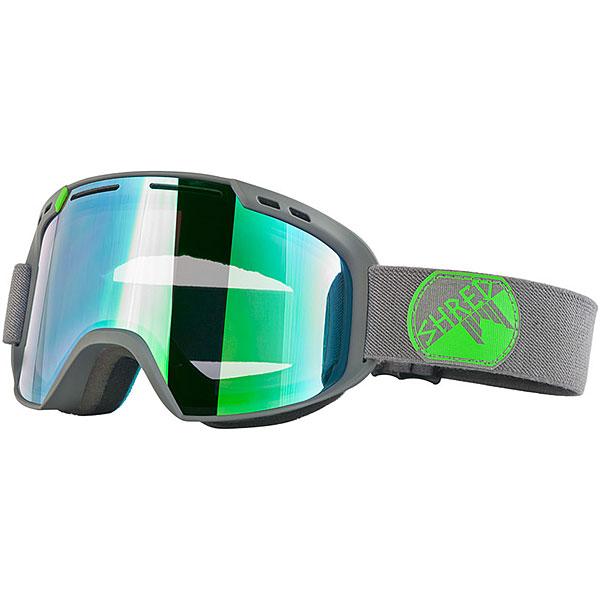 Маска для сноуборда Shred Amazify Gray/Green