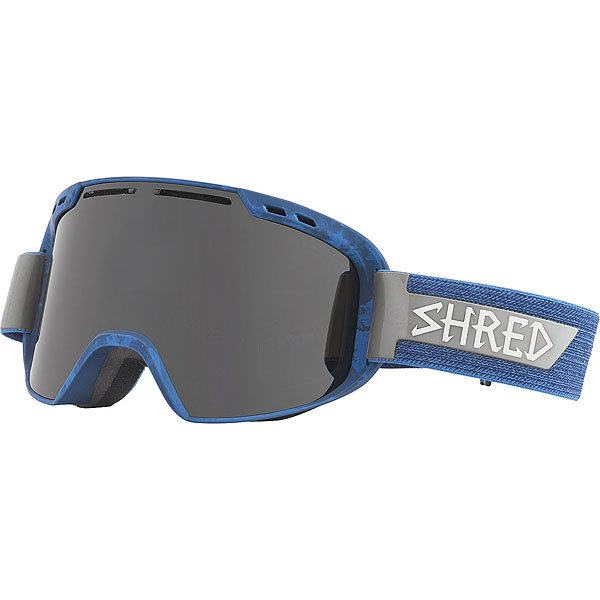 Маска для сноуборда Shred Amazify Brushed Royal Frozen Navy Blue