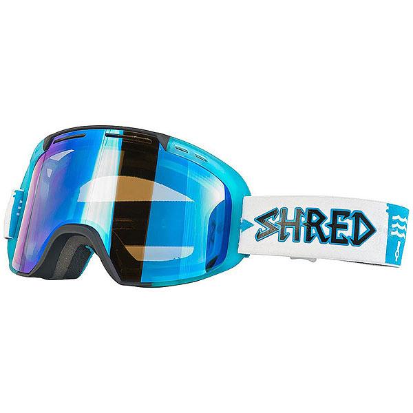 Маска для сноуборда Shred Amazify Roller W4W Collab Black/Blue