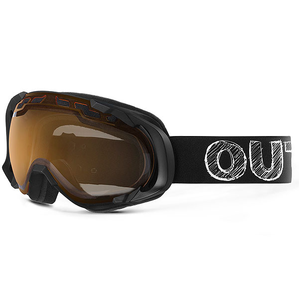Маска для сноуборда OUT OF Edge Blackboard (Persimmon)