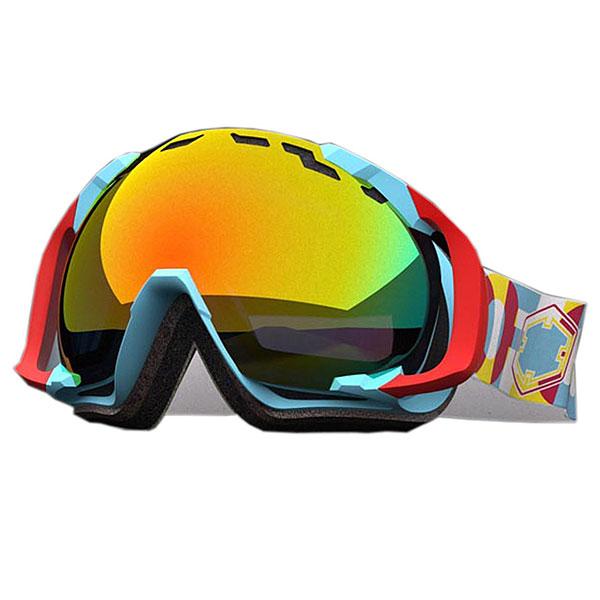 Маска для сноуборда OUT OF Edge Дополнительная Бонус Линза В Комплекте Crazy Type (red Mci)