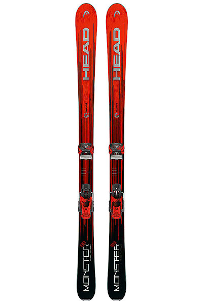 Горные лыжи Head Monster 88 Ti Black/Metalic Red