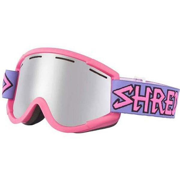 Маска для сноуборда Shred Nastify Air Pink Platinum Neon Pink