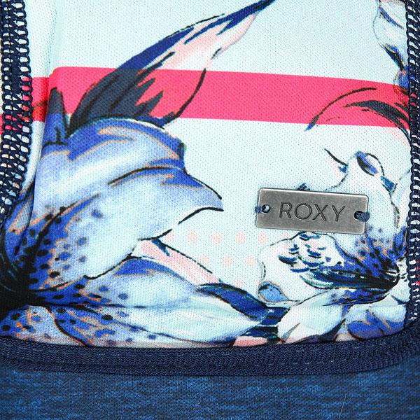 Рюкзак городской женский Roxy Live I Th World Blue Light Rain Daze