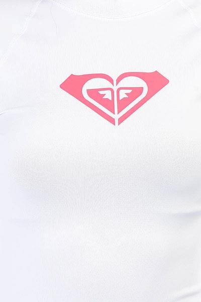 Гидрофутболка женская Roxy Wholehearted Ls White