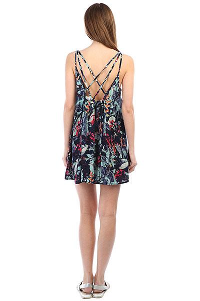 Платье женское Roxy Win F Prt Dress Blues Fantasti