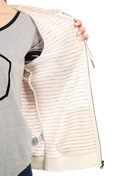 Толстовка классическая женский Roxy Trippinstrip Tandoori Spice