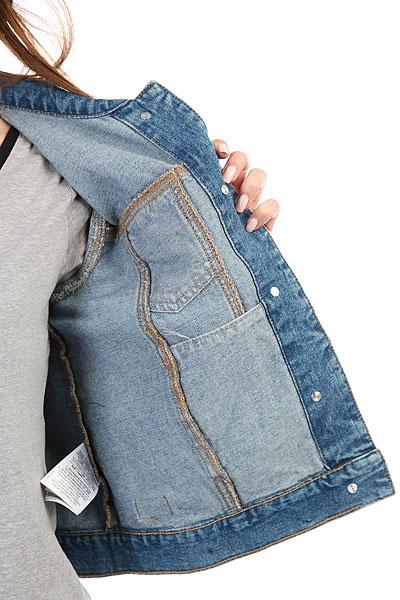 Куртка джинсовая женская Roxy Hellospring Light Blue