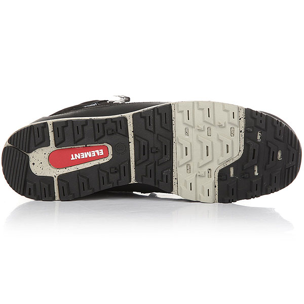 Ботинки низкие Element Donnelly Black/Grey