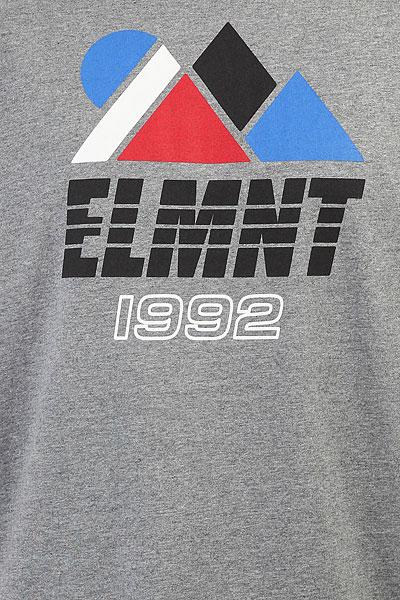Футболка Element Angles Grey Heather