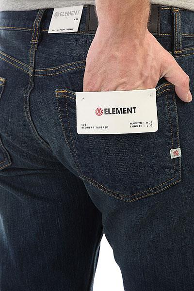 Штаны прямые Element E03 Dark Used