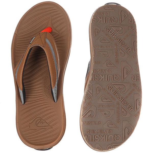 Сланцы Quiksilver Travel Oasis M Brown/Brown/Orange