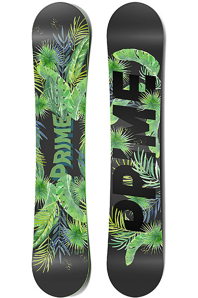 Сноуборд PRIME Snowboards Jungle Men 150 Green 2018