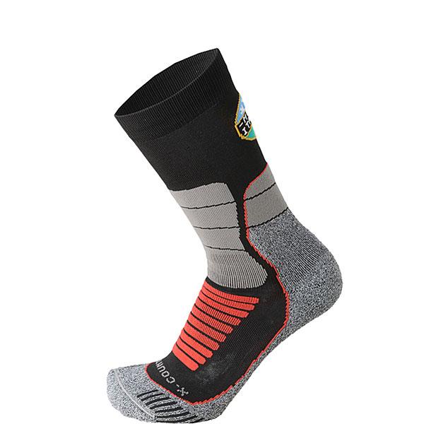 Носки высокие Mico Official Ita X-country Socks Black/Grey