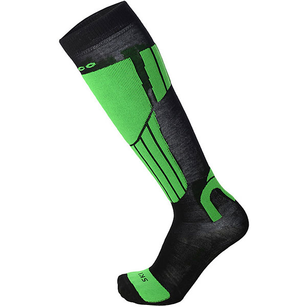 Носки высокие Mico Performance Ski Sock Verde Fluo