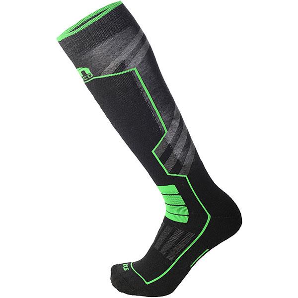 Носки высокие Mico Ski Performance Sock In Polypropylene Verde Fluo