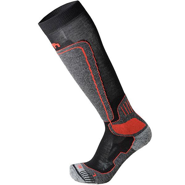Носки высокие Mico Ski Technical Sock In Merino Wool Dark Grey