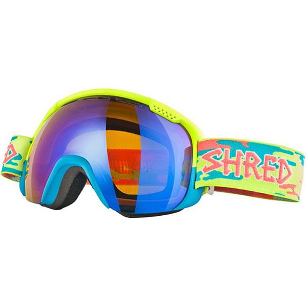Маска для сноуборда Shred Smartefy Crunchy Yellow/Blue