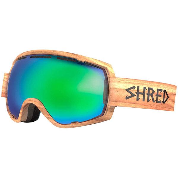 Маска для сноуборда Shred Stupefy Woody Cbl/Plasma Wood