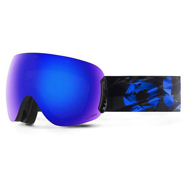 Маска для сноуборда OUT OF Open + Доп Линза Abyss(blue Mci)