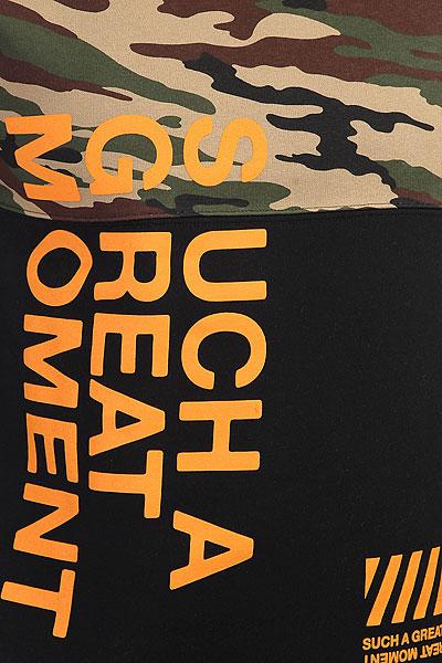 Толстовка классическая S.G.M. Ake Camo/Black/Orange