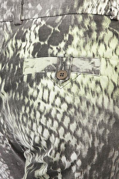 Штаны прямые женские Extra Higher Level Grey Snake Print