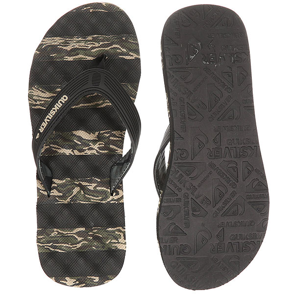 Вьетнамки Quiksilver Massage Black/Green