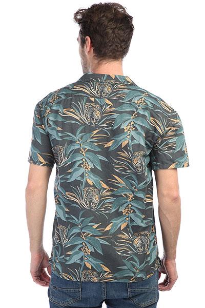 Рубашка Quiksilver Alohatigerss Raven Aloha Tiger