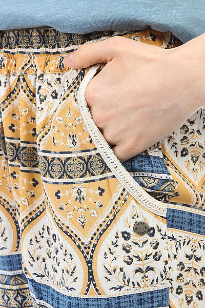 Штаны спортивные женские Roxy Bimini Printed Marshmallow New Maid