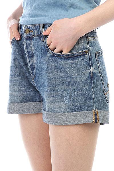 Шорты джинсовые женские Roxy Greenturtlecay Retro Light Blue